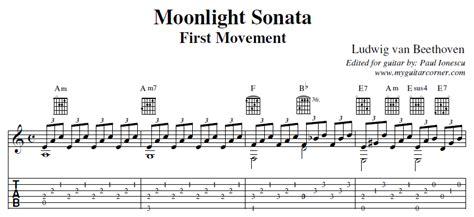 cara menulis not balok di guitar pro image gallery moonlight sonata tab