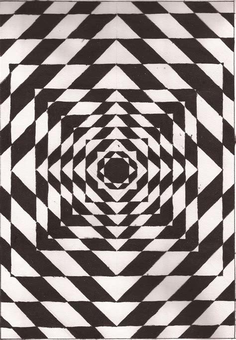 ilusiones opticas en dibujos el arte y yo