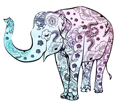 small decorative drawings quot decorative elephant drawing quot by mosfunky redbubble
