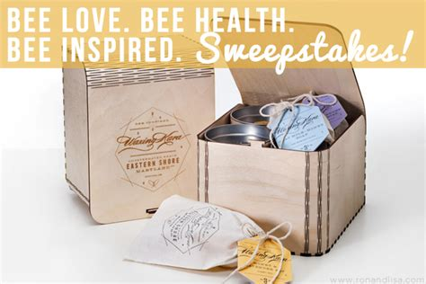 Sweepstakes Bee - bee love bee health bee inspired sweepstakes