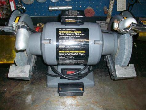 craftsman 8 bench grinder 8 quot x 1 hp bench grinder craftsman saanich victoria
