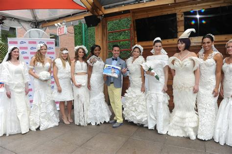 Wedding Dress Sweepstakes - charmin cheap chic weddings toilet paper wedding dress contest event see the winning