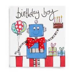 boy birthday card robot boys handmade birthday card 163 2 60 a great range