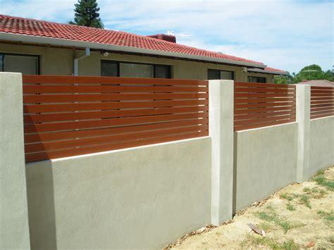 pagar rumah minimalis modern contoh desain  lamudi