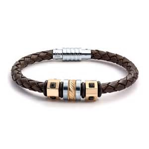 Personalized Mens Bracelet Aagaard Mens Jewelry Leather Bracelet No 1291 Landing Company
