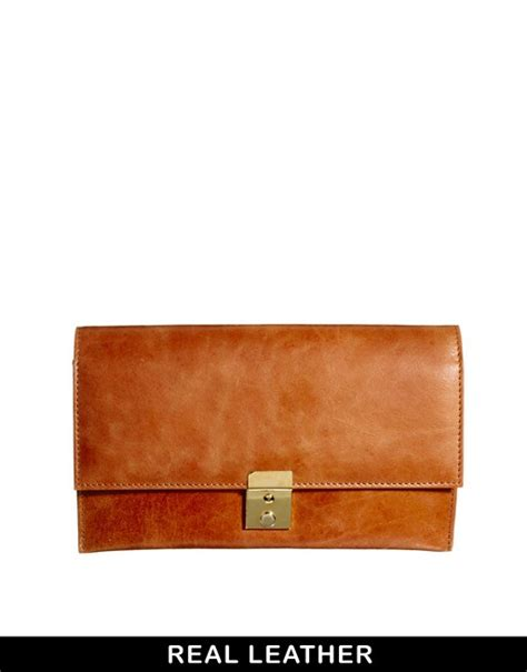New Purse With Flap Stradivarius asos asos leather purse travel wallet