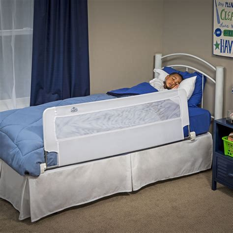 kids bed rail extra long safety bed rail toddler kids swing down