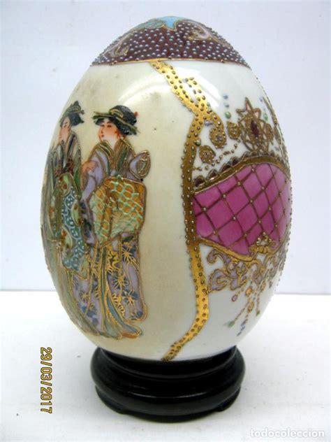 decorar huevo avestruz gran huevo de avestruz de porcelana china pinta comprar