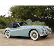 1954 Jaguar XK140 Drophead Coupe Retro F Wallpaper