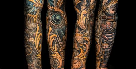 biomech tattoos collection of 25 biomechanical