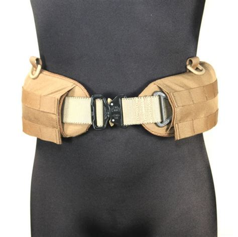 marz tactical padded molle belt sleeve