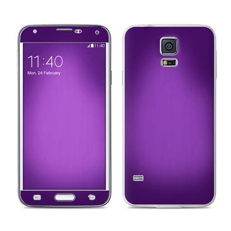 live themes for samsung galaxy s5 samsung galaxy s5 skin purple burst decalgirl