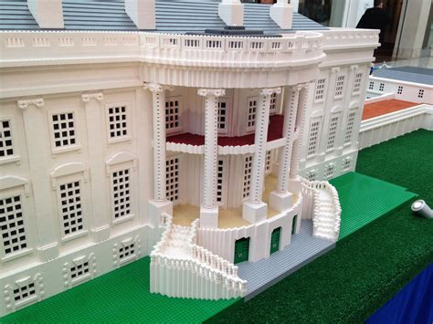 who made the white house lego monuments tour now at glendale galleria momsla
