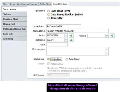 Software Apotek Dan Klinik 4 0 program apotik dan klinik v4 0 original serial number
