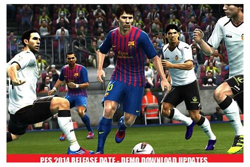 pes 2014 download free demo