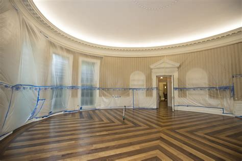 what floor is the oval office on 1 thing you never see an oval office without furniture