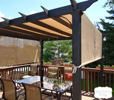 pergola shade   beauteeful living