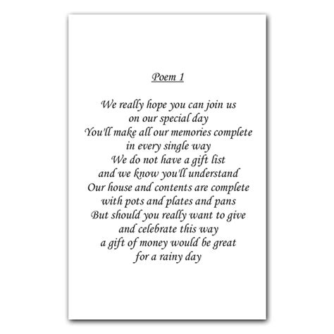 wedding poems for cards wedding poem cards the card gallery news