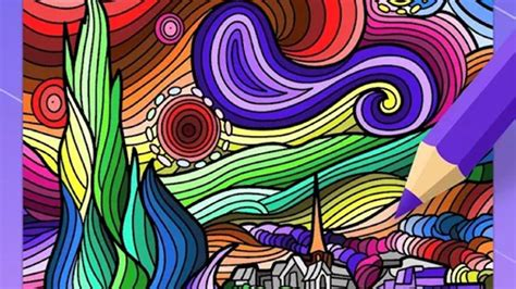Best Coloring Book Android: Mandala coloring book android