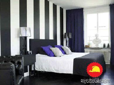 Black And White Bedroom Wall Design quarto preto jo 227 ozices
