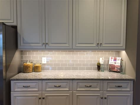 Subway Tiles For Backsplash In Kitchen Smoke Glass Subway Tile Subway Tile Backsplash Subway Tiles And