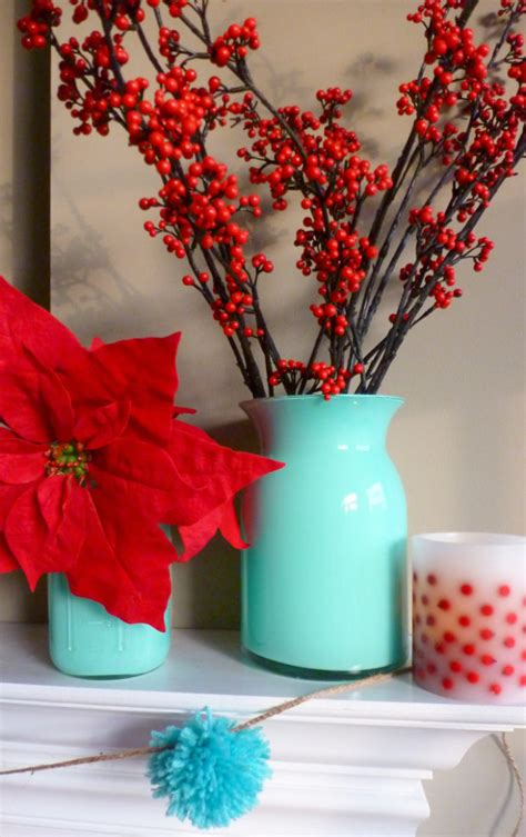 turquoise and red party color scheme the daily hostess