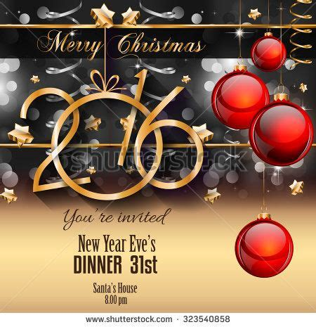 new year dinner flyer 2016 happy new year background for your flyers