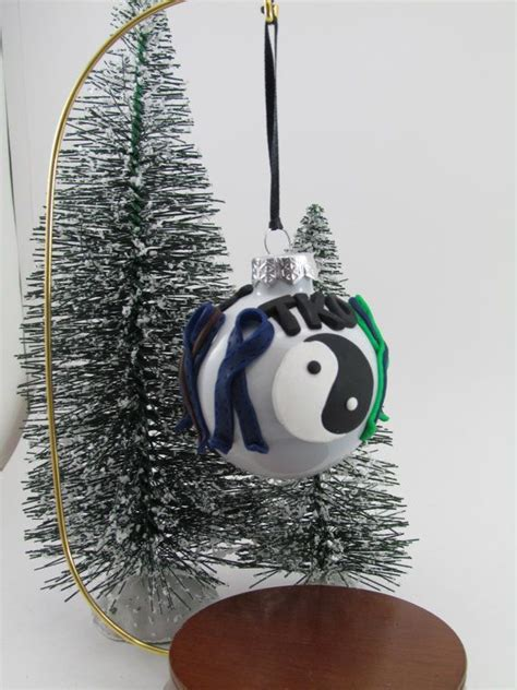 tae qan do christmas ornaments martial arts ornament taekwondo ornament personalized ornament