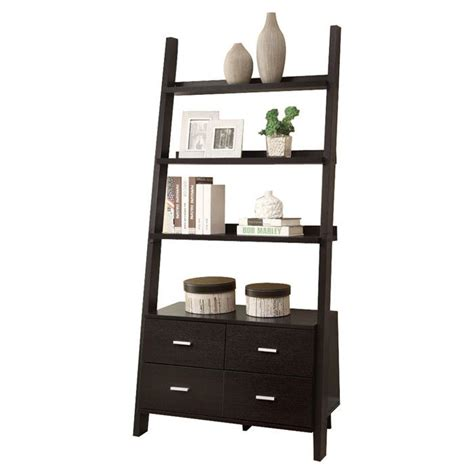 Ladder Bookcase With Drawers Pin By Mallory Childers On Design Furniture