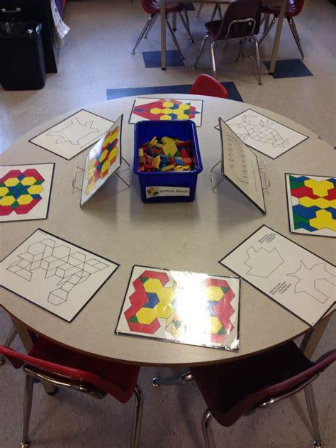 pattern block center activities 137 best images about geometria pattern blocks on