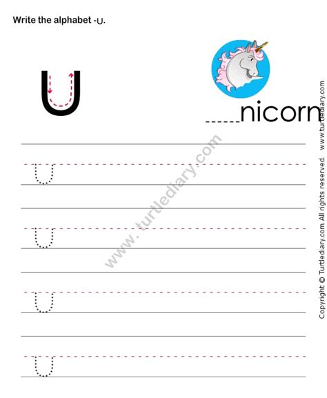 Free Printable English Worksheets For Preschool Turtlediary   146 best images about alphabet worksheets on pinterest