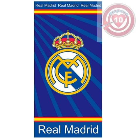 real madrid colors toalla ba 209 o real madrid color azul regalos10