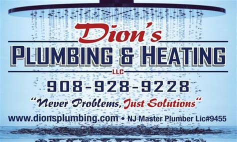 Plumbing And Heating Nj by Dions Plumbing Heating In Scotch Plains Nj 07076