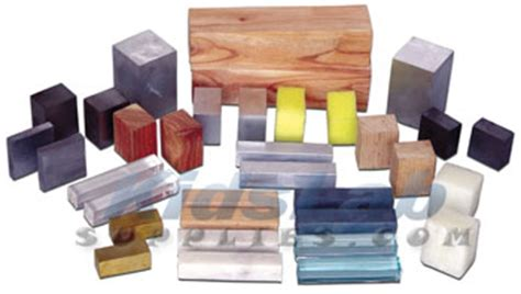 Different Materials by Assorted Materials Kit Lab Supplies