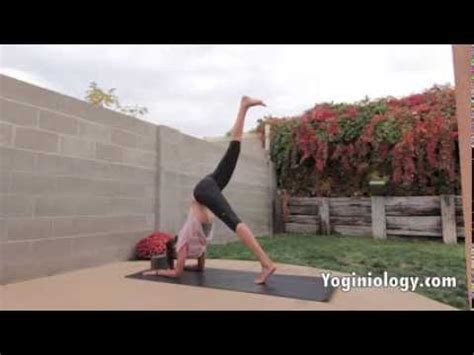yoga tutorial videos for beginners yoga handstand tutorial for beginners yoga inversions