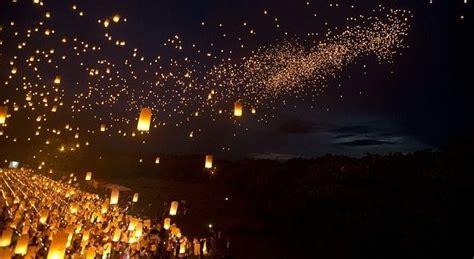 lanterne volanti firenze la notte delle lanterne a il lancio a sesto san