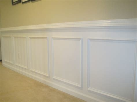 Adding Wainscoting To A Room Furniture Home Improvement Style Fair Dining Room Wall
