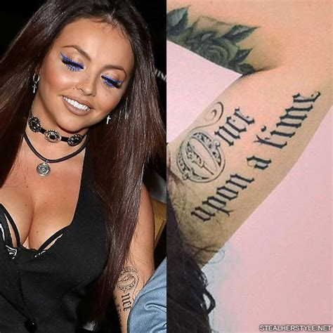 jesy nelson    time bicep tattoo steal  style