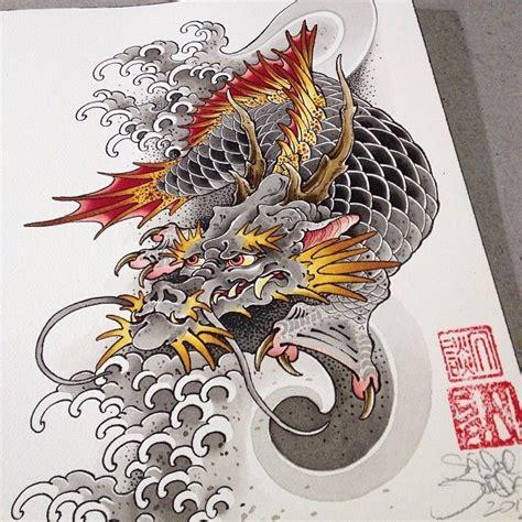 tattoo galleries dragon koi 32 best dragon koi fish tattoos images on pinterest
