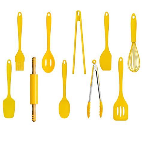 zing cooking utensils 10pc kitchen accessories set