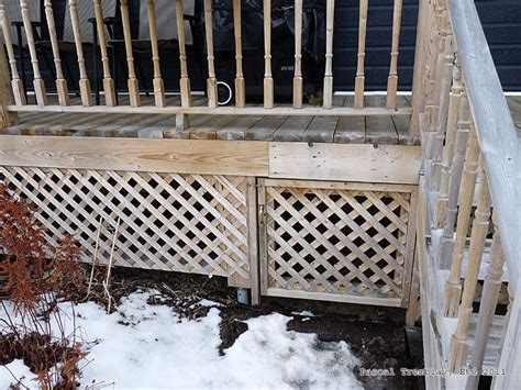 Lattice Around Shed by Shed Garden Build 12 X12 Shed Deck Info