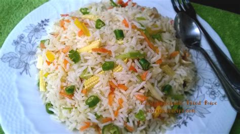 vegetables and rice easy vegetable fried rice