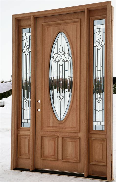 Wood Front Entry Doors With Sidelights Exterior Entry Doors With Sidelights House Ideas Wood Entry Doors