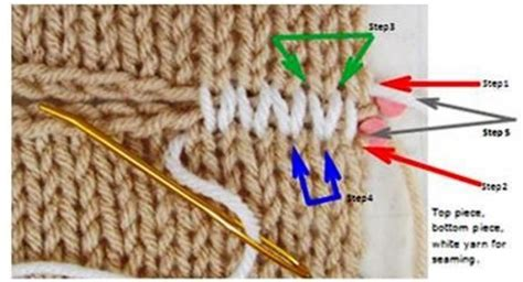 how to knit a stockinette stitch horizontal stockinette stitch invisible seam photo how