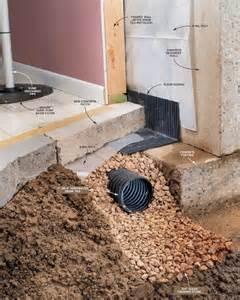 Installing A Handrail Drain Tile Basement Smalltowndjs Com