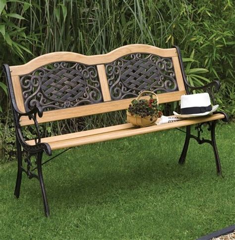 resin garden benches mississippi wood metal resin bench the garden factory