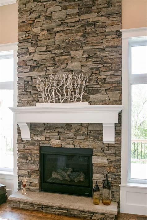 fireplace stacked best 25 stacked fireplaces ideas on