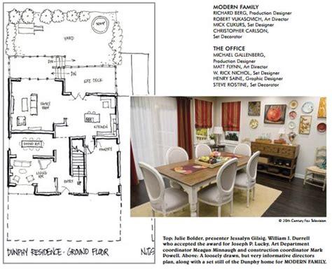 family house floor plans modern family dunphy floorplan house plans