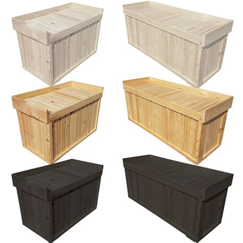 box bench seat storage bench seat from fsc wood universalbox wooden chest