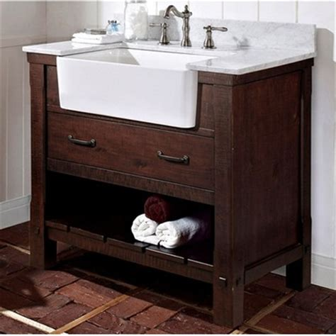 napa 36 quot farmhouse traditional single sink bathroom vanity